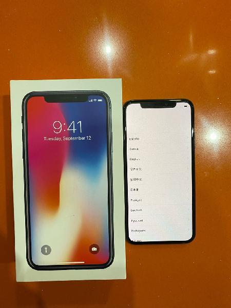 Iphone x space grey 64 gb