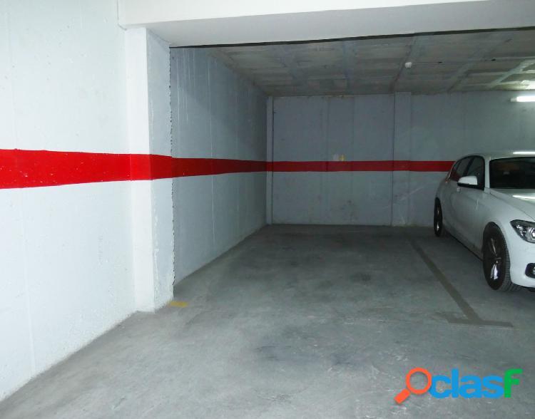 ¡plaza de garaje en el centro de alicante, en la calle dr just! no pierdas esta oportunidad