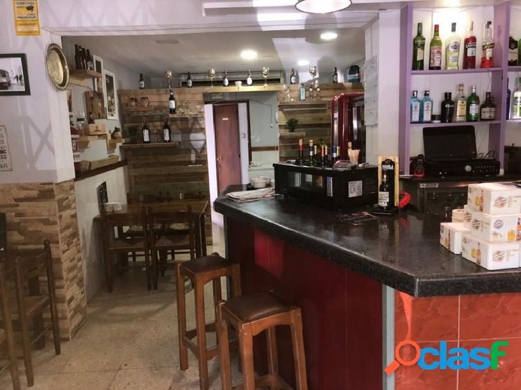 Local en rentabilidad fabuloso local bar-restaurante