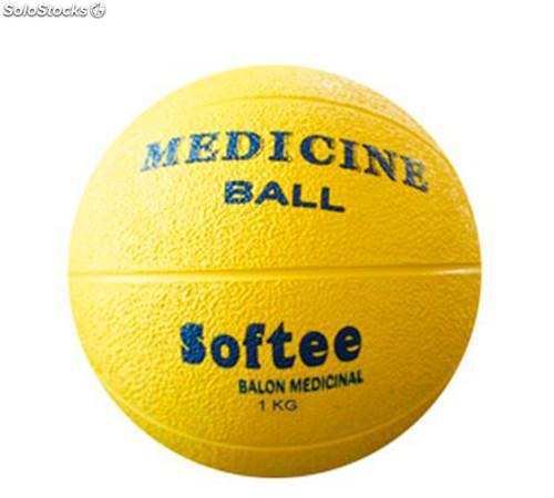 Balones Medicinales Softee: Sin bote y muy resistente (pesos