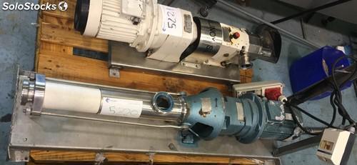 Bomba de tornillo helicoidal monobloc bominox rs-41M de