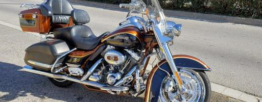 Harley davidson cvo road king (modelo actual)