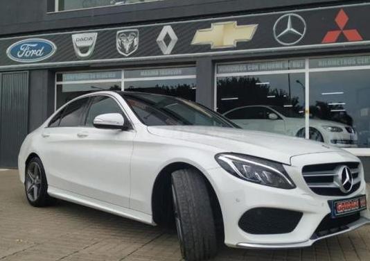 Mercedes-benz clase c c 220 d sportive amg 4p.