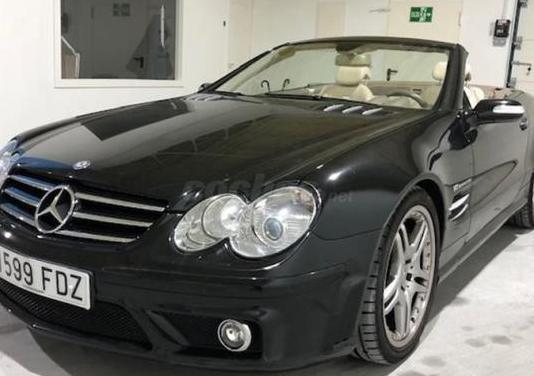 Mercedes-benz clase sl sl 55 k amg 2p.