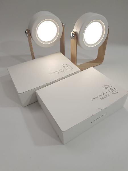 2 lamparas de mesa nueva inalámbrica. 2 posiciones