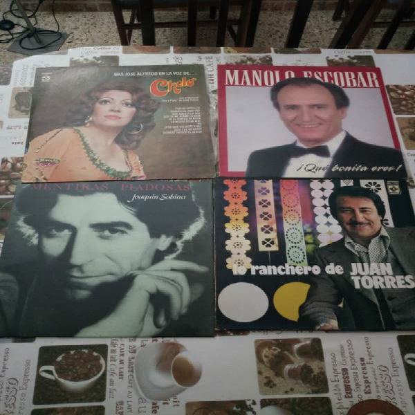 22 discos de vinilo