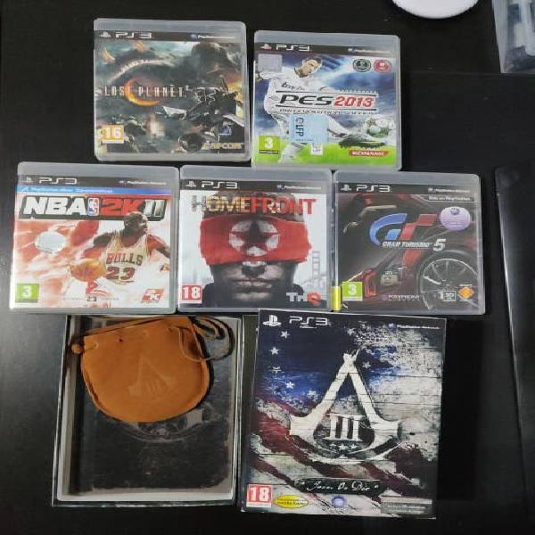 5 euros todo 5 juegos ps3