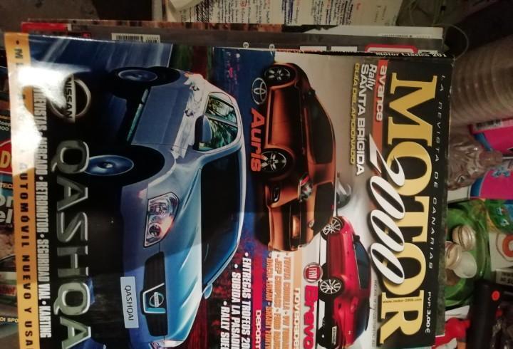 Antigua revista de coches automóvil motor 2000 nº 376 año
