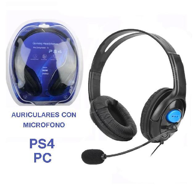 Cascos auriculares para ps4 play station gaming