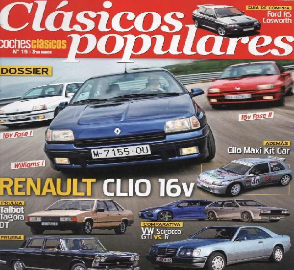 Clasicos populares n. 15 - en portada: renault clio 16v