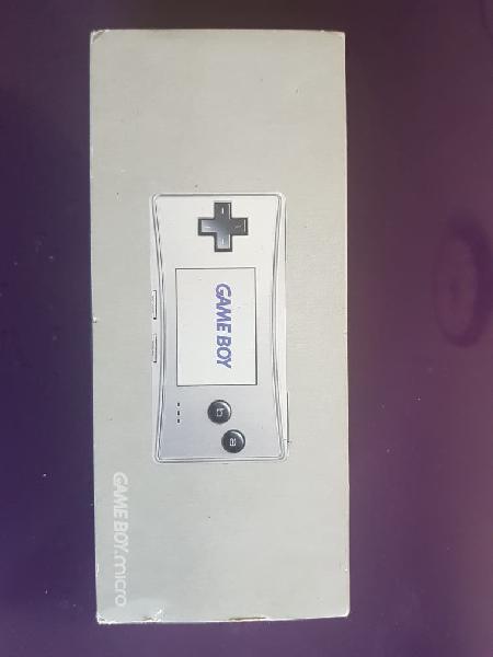 Consola game boy micro