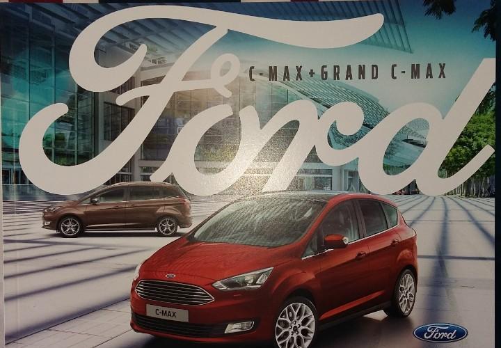 Catálogo ford c-max y grand c-max. agosto 2016. en español