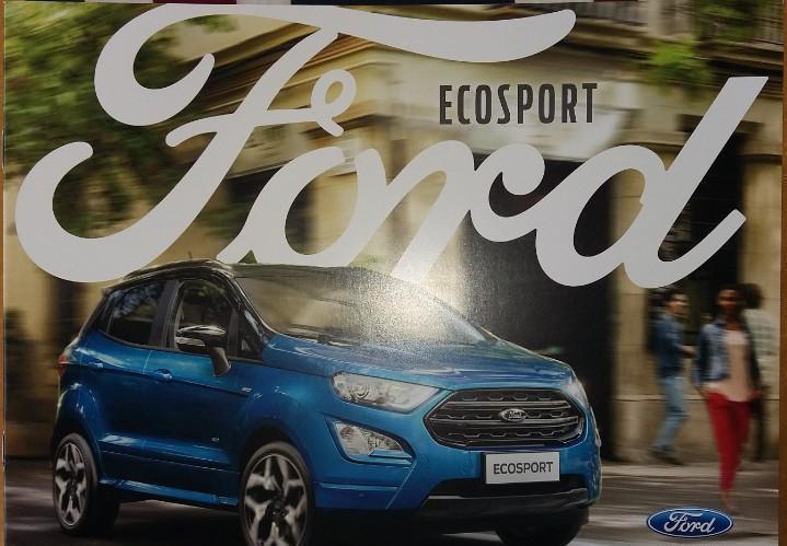 Catálogo ford ecosport. junio 2017. en español