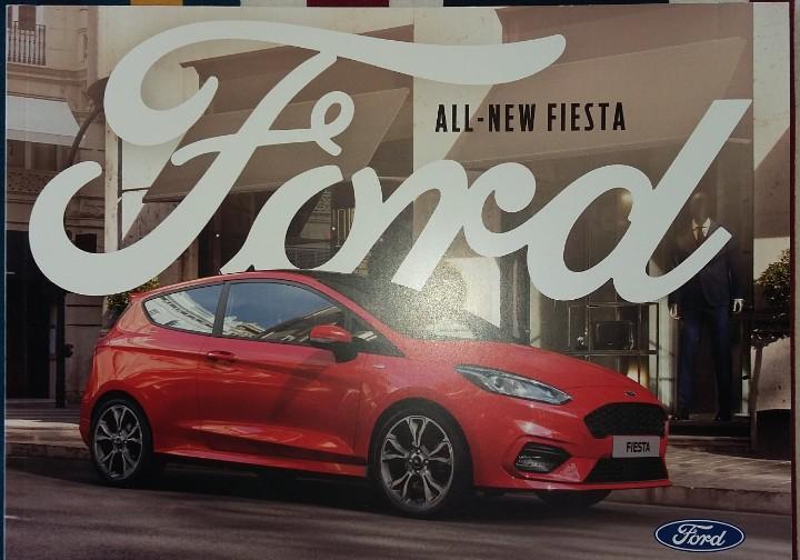 Catálogo ford fiesta my2018.5. marzo 2017. en español