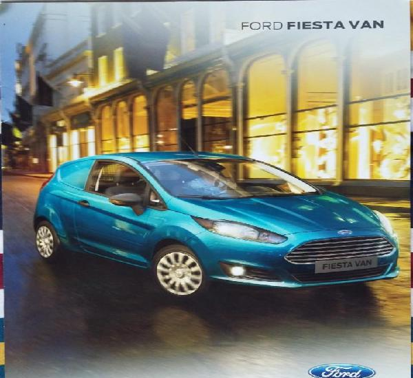 Catálogo ford fiesta van. junio 2014. en español