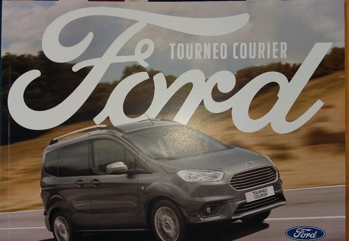 Catálogo ford tourneo courier. agosto 2018. en español