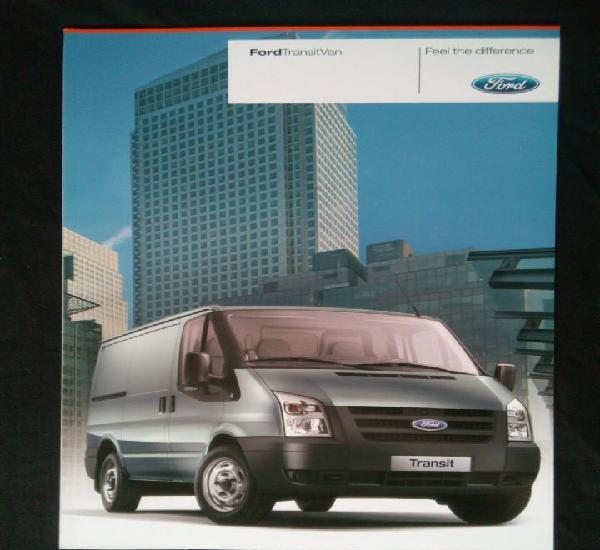 Catálogo ford transit van. junio 2010. en español