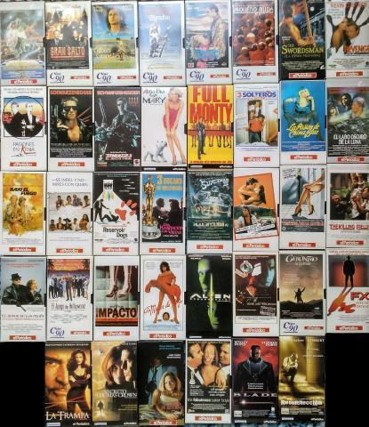 Diario el periódico - colección de 39 películas (vhs)