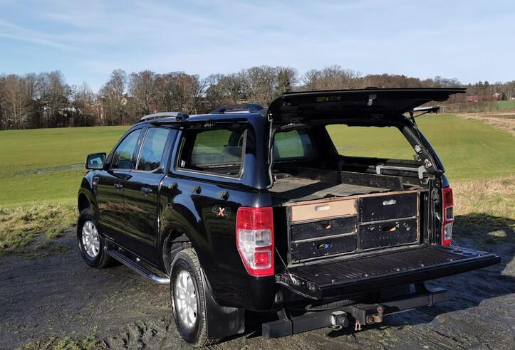 Ford ranger doble cabina xlt 2.2 tdci aut