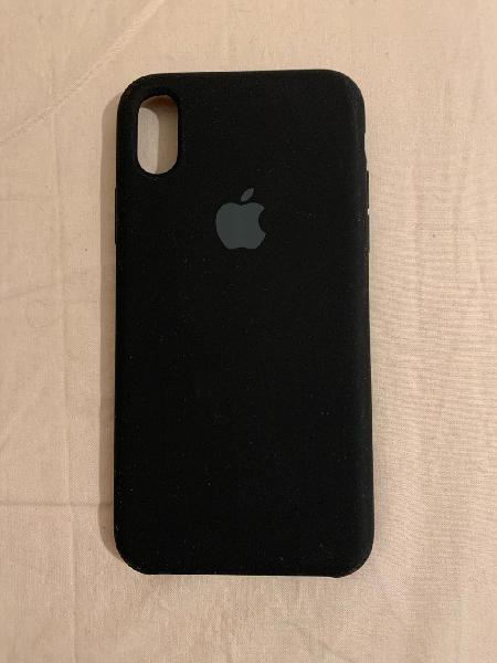 Funda iphone x color negro