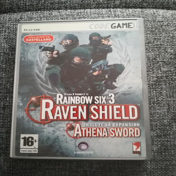 Juego pc - tom clancy's rainbow six 3 raven shield
