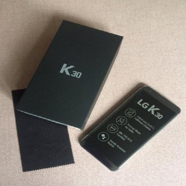 Lg k30 usado solo una vez