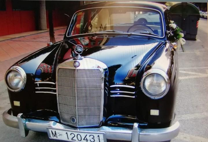 Mercedes benz 180 año 1955