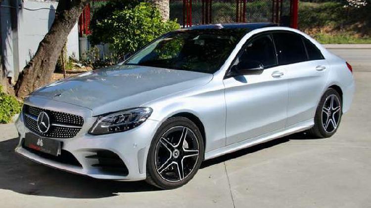 Mercedes-benz clase c 220 d 9g-tronic, amg line, techo