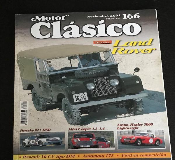 Motor clasico nº 166 - land rover / mini cooper 1.3 - 1.6 /