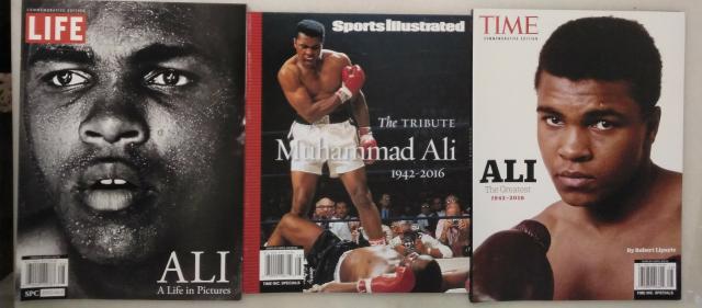 Muhammad ali - revistas life, time y sports illustrated