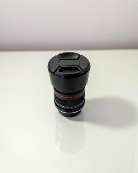 Objetivo Nikon 85mm 1.8