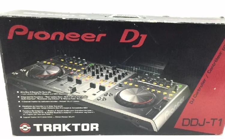 Pioneer dj ddj t1 mesa mezclas controladora