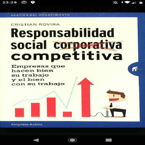 Responsabilidad social competitiva.