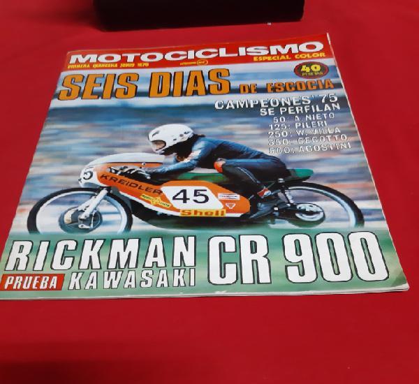 Revista motociclismo primera quincena de junio 1975
