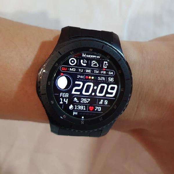 Samsung galaxy gear s3 frontier reloj