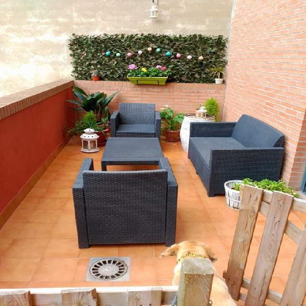 Sofá y sillones de terraza o jardín