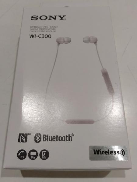 Sony wic300 - auriculares bluetooth (nuevo)