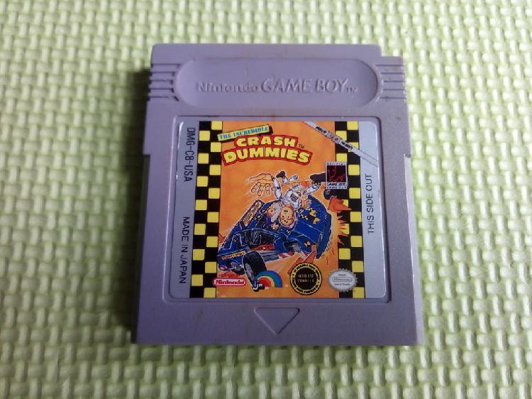 The incredible crash dummies nintendo gameboy