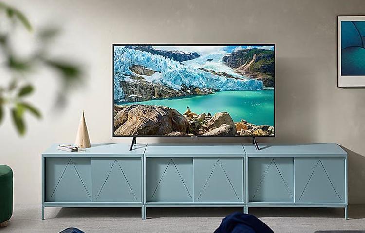 "Televisor samsung ru 7100 4k hd 43"" nuevo, chollo"