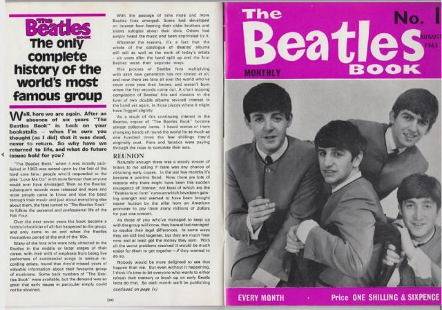 The beatles monthly book. colección completa en pdf (321