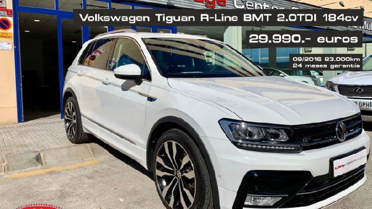 Volkswagen tiguan 2.0tdi bmt r-line 4x2 150