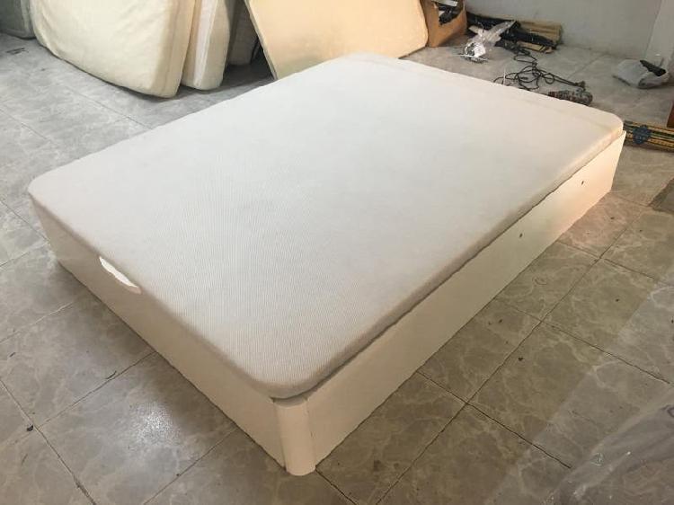 Canape blanco seminueva 150x190 + transporte
