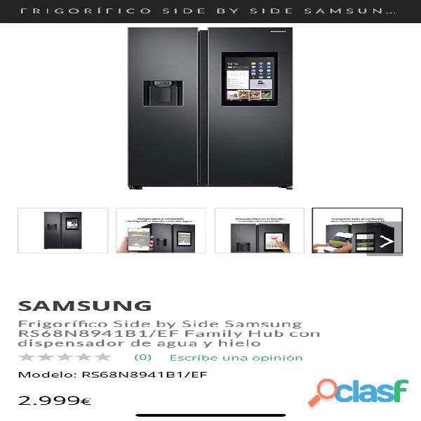 Frigorífico Americano Samsung con Tv 6