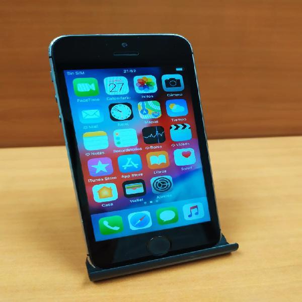 Iphone 5s negro libre
