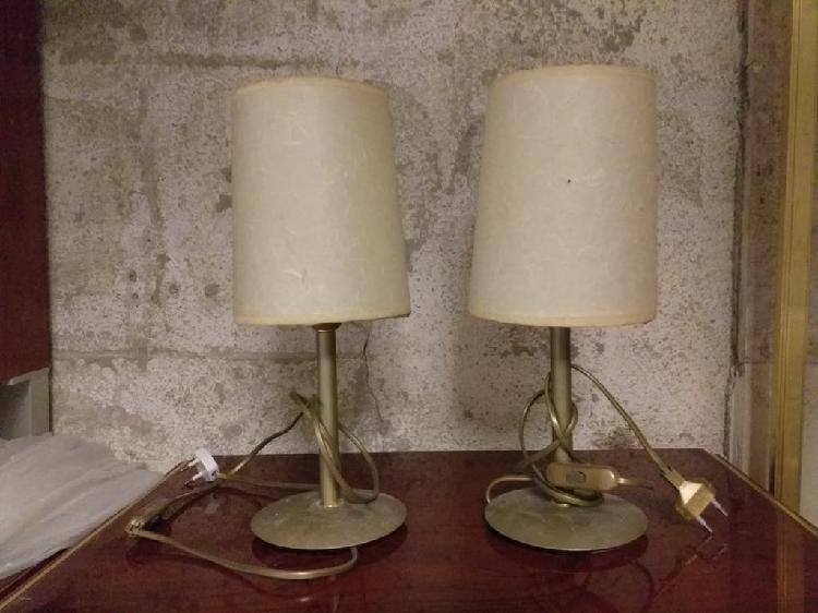 Par de lamparitas vintage