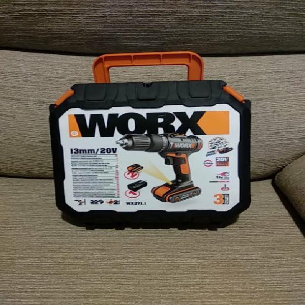 Taladro atornillador worx 371
