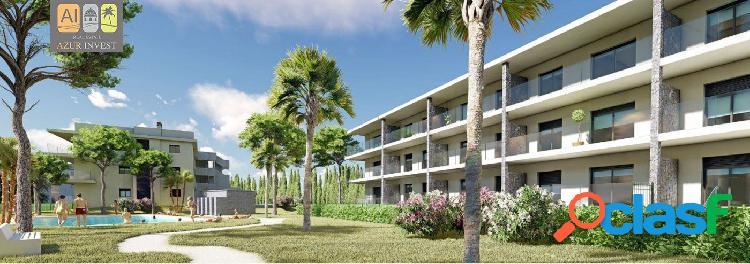 45 viviendas de 2/3 habitaciones y 2 plazas plazas de aparcamiento -residencial flor de almendro
