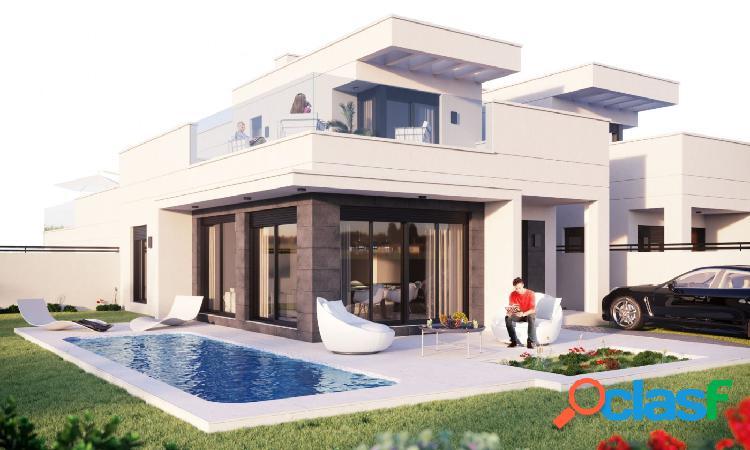 Villa obra nueva en san fulgencio