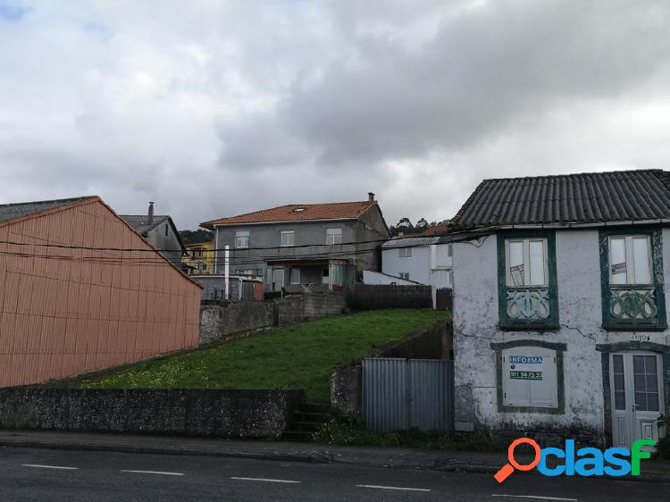 Casa con terreno urbano en neda - para rehabilitar