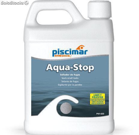 Aqua Stop Sellador Fugas de Agua para Piscinas y Spas